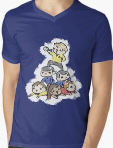 An entire space crew! Mens V-Neck T-Shirt