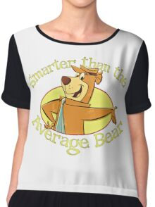 Yogi Bear - Smarter than the Average Bear Chiffon Top