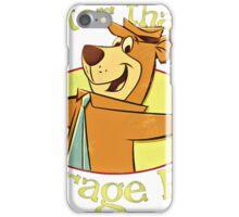 Yogi Bear - Smarter than the Average Bear iPhone Case/Skin