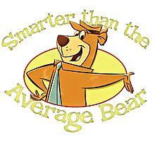 Yogi Bear - Smarter than the Average Bear Photographic Print