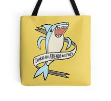 dear premier barnett: sharks are friends, not foes Tote Bag