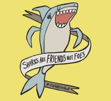 dear premier barnett: sharks are friends, not foes Kids Clothes
