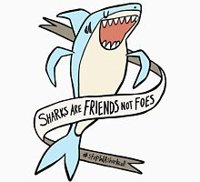 dear premier barnett: sharks are friends, not foes Unisex T-Shirt