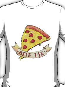 BITE ME pizza T-Shirt