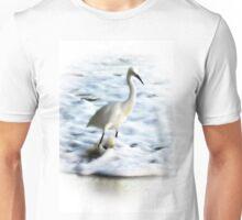 Snowy Egret Unisex T-Shirt