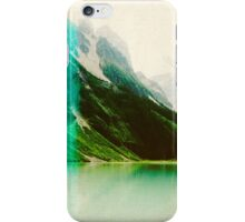 Lomography Style Lake Landscape iPhone Case/Skin