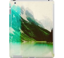 Lomography Style Lake Landscape iPad Case/Skin