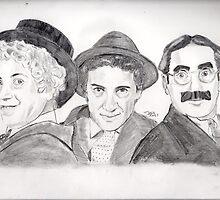 Marx Bros by TonyRoss