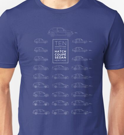 Ten Generations of Civic Heritage Unisex T-Shirt