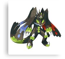 Pokemon /A Zygarde Canvas Print