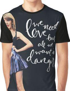 DANGER: TS Graphic T-Shirt