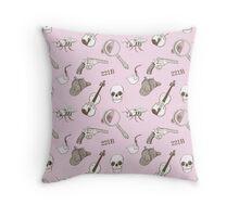 221B Pattern Throw Pillow
