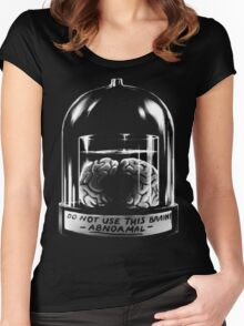 Abby Normal BLACK Women's Fitted Scoop T-Shirt