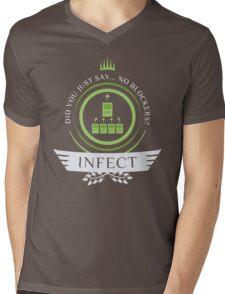 Magic the Gathering - Infect Life V2 Mens V-Neck T-Shirt