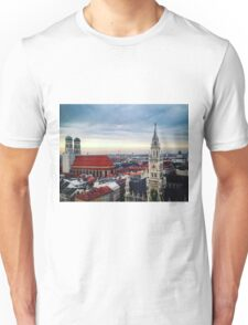 Munich Marienplatz Unisex T-Shirt