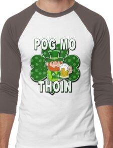 Pog Mo Thoin ST PATRICKS DAY Men's Baseball ¾ T-Shirt
