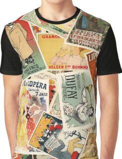 French Montage part deux Graphic T-Shirt