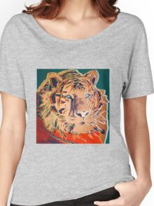 Siberian Tiger - Andy Warhol Women's Relaxed Fit T-Shirt