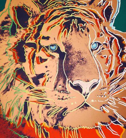 Siberian Tiger - Andy Warhol Sticker