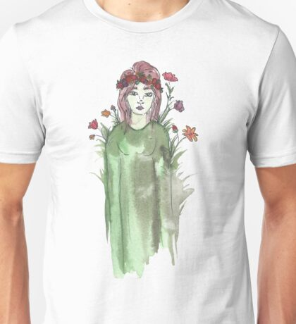 Can I Just Be a Flower Instead? Unisex T-Shirt