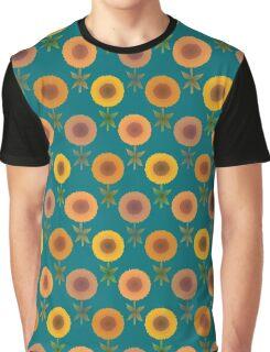 Nonbinary Sunflowers Graphic T-Shirt