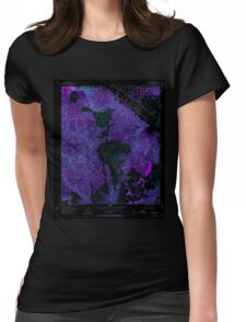 USGS TOPO Map California CA Wildomar 301373 1953 24000 geo Inverted Womens Fitted T-Shirt