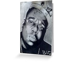 Notorious B.I.G. Greeting Card