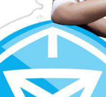 Ingress Miley - Blue Sticker