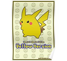Pokémon: Yellow Version LARGE Poster