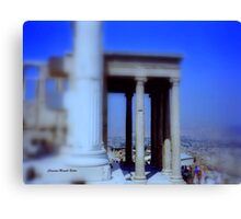 View from Parthenon Canvas Print