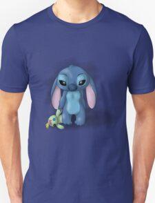 Stitch - Lonely Unisex T-Shirt
