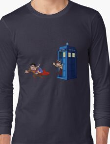 Wrong Phonebooth Long Sleeve T-Shirt