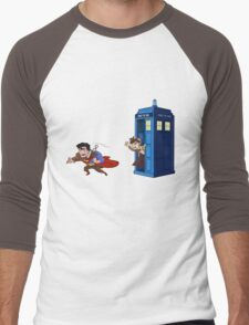 Wrong Phonebooth Men's Baseball ¾ T-Shirt