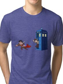 Wrong Phonebooth Tri-blend T-Shirt