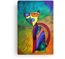 Celestial Cat Canvas Print