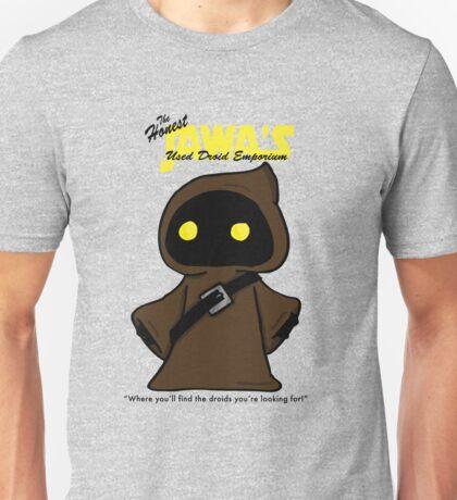 Honest Jawa's Used Droids Emporium Unisex T-Shirt