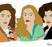 Twin Peaks Girls by BeyondThePale7
