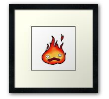 I don't cook! I'm a scary and powerful fire demon! Framed Print
