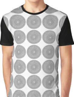 Intricate Mandala Graphic T-Shirt
