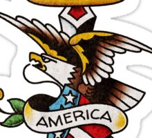 American Traditional Keep America First (Vintage Version) Sticker