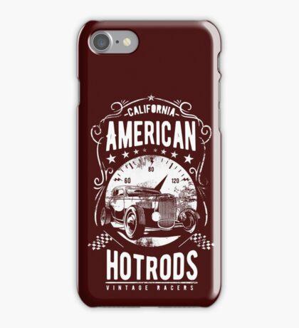 American Hot Rod Vintage Racers iPhone Case/Skin