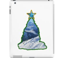 Christmas Tree Snow Scene iPad Case/Skin