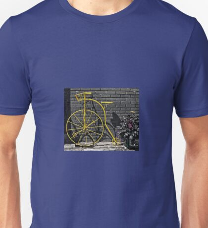 The Yellow Bicycle! Unisex T-Shirt