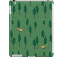 Fox in the woods. iPad Case/Skin