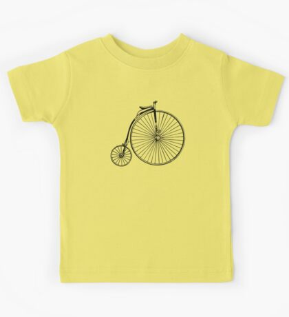 Penny Farthing Bicycle Kids Tee
