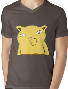 Badly-drawn Drowzee Mens V-Neck T-Shirt