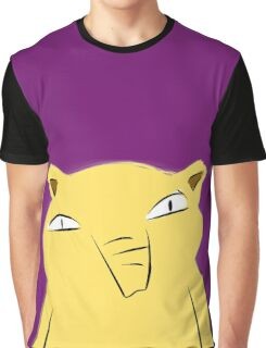 Badly-drawn Drowzee Graphic T-Shirt