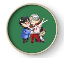 yuri on ice Clock
