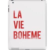 LA VIE BOHEME iPad Case/Skin