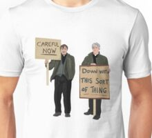 """""""DOWN WITH THIS SORT OF THING...Careful Now"""" - Father Ted Unisex T-Shirt"""